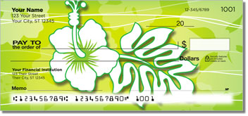 Hawaiian Hibiscus Personal Checks