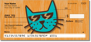 Cool Cat Personal Checks
