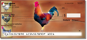 Rooster Personal Checks