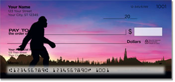 Bigfoot Do You Believe checks
