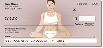Yoga Pose Personal Checks
