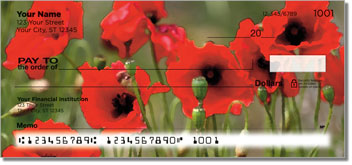 Poppy Personal Checks