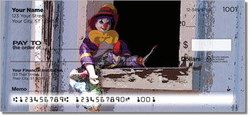 Whiteface Clown Personal Checks
