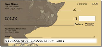 Black Cat Personal Checks