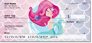 Lovely Mermaid personal checks