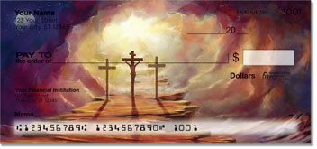 Calvary Cross Personal Checks