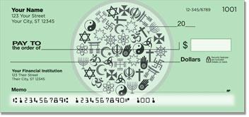 World Religion Personal Checks