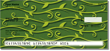 Green Vine Personal Checks