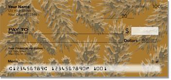 Evergreen Emboss Checks