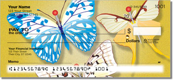 Butterfly Collection Personal Checks