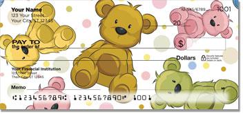 Cuddly Teddy Bear Personal Checks
