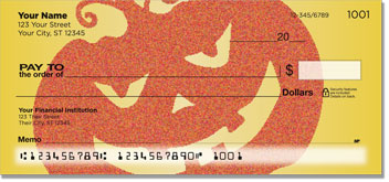 Happy Halloween Personal Checks