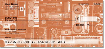 Vintage Music Personal Checks