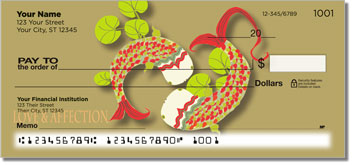 Koi Fish Personal Checks
