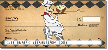 Whimsical Chef Personal Checks