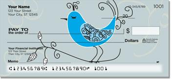 Whimsical Bird Checks