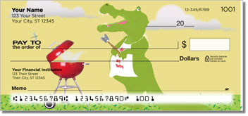 Crocodile Fun Personal Checks