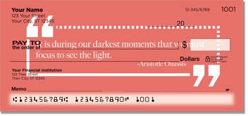 Be Inspired Checks