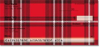 Plaid Pattern Personal Checks