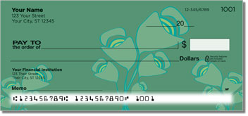 Green Bouquet Checks