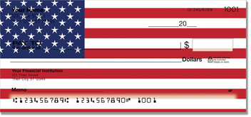US Flag Personal Checks
