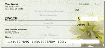 Wedding Personal Checks