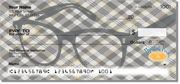 Hipster Personal Checks