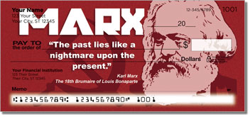 Karl Marx Personal Checks