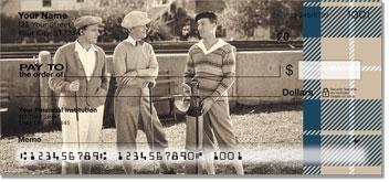 Vintage Golf Personal Checks
