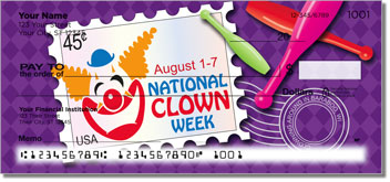 National Clown Week Personal Checks