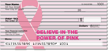 Power of Pink Personal Checks