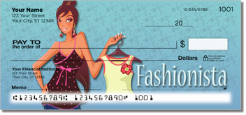 Fabulous Fashionista Personal Checks