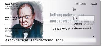 Winston Churchill Personal Checks