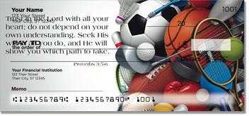 Sports Scripture Personal Checks