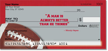 Woody Hayes Checks