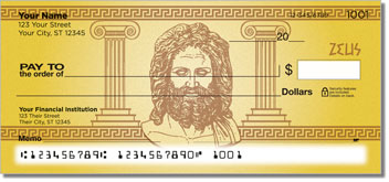 Greek God Personal Checks