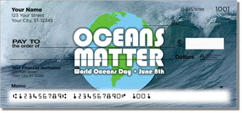 World Oceans Day Personal Checks