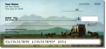 Albert Bierstadt Personal Checks