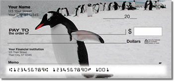 Animals of Antarctica Personal Checks