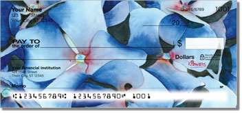 Floral Series 2 Personal Checks