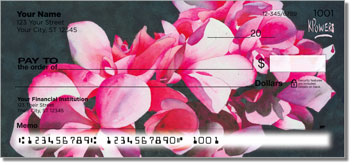 Floral Series 3 Personal Checks