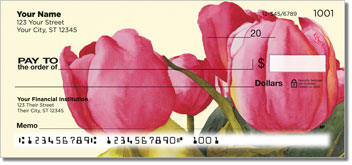 Floral Series 8 Personal Checks