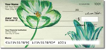 Susan Varo Floral Personal Checks