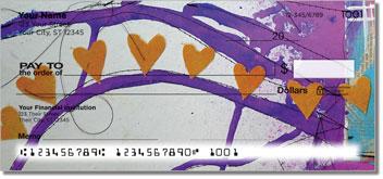 Dina Wakley Heart Personal Checks