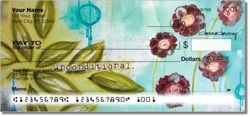Floral Set 1 Personal Checks
