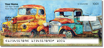 Rusty Truck Personal Checks