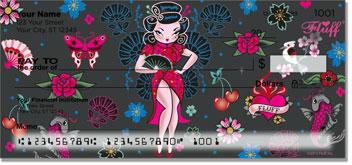 Geisha Girl Personal Checks