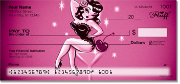 Martini Girl Personal Checks