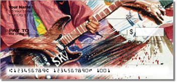 Guitar Art 2 Personal Checks