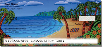 Hawaiian Flavor Personal Checks